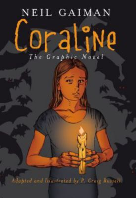 Coraline, English edition, The Graphic Novel, Neil Gaiman
