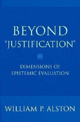 Cornell University Press: Beyond Justification, William P. Alston