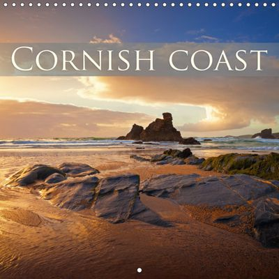 Cornish coast (Wall Calendar 2019 300 × 300 mm Square), Photoplace