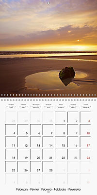 Cornish coast (Wall Calendar 2019 300 × 300 mm Square) - Produktdetailbild 2