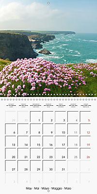 Cornish coast (Wall Calendar 2019 300 × 300 mm Square) - Produktdetailbild 5