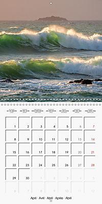 Cornish coast (Wall Calendar 2019 300 × 300 mm Square) - Produktdetailbild 4