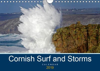 Cornish Surf and Storms (Wall Calendar 2019 DIN A4 Landscape), Mike Newman