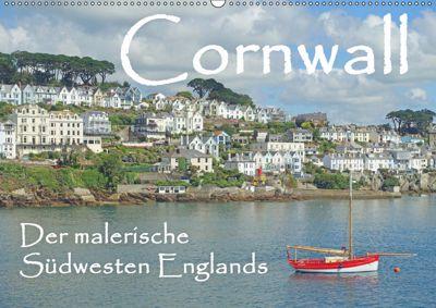Cornwall. Der malerische Südwesten Englands (Wandkalender 2019 DIN A2 quer), Anita Berger