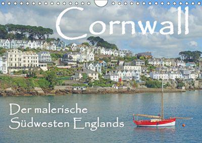 Cornwall. Der malerische Südwesten Englands (Wandkalender 2019 DIN A4 quer), Anita Berger