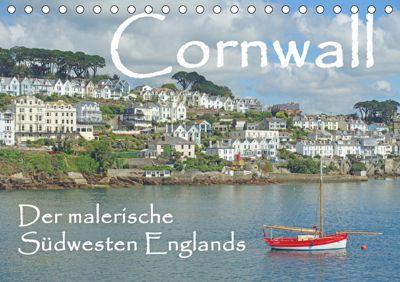 Cornwall. Der malerische Südwesten Englands (Tischkalender 2019 DIN A5 quer), Anita Berger