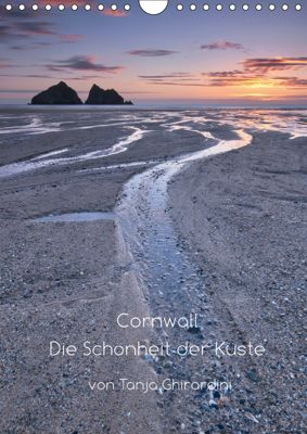 Cornwall - Die Schönheit der Küste (Wandkalender 2019 DIN A4 hoch), Tanja Ghirardini