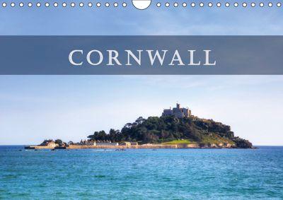 Cornwall (Wall Calendar 2019 DIN A4 Landscape), Joana Kruse