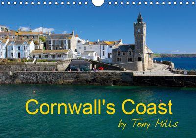 Cornwall's Coast by Tony Mills (Wall Calendar 2019 DIN A4 Landscape), Tony Mills