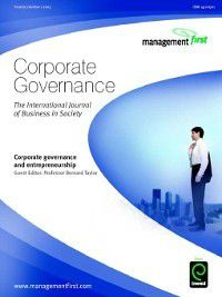 Corporate Governance: Corporate Governance, Volume 3, Issue 2