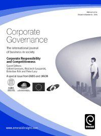 Corporate Governance: Corporate Governance, Volume 6, Issue 4