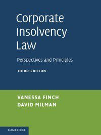 Corporate Insolvency Law, Vanessa Finch, David Milman