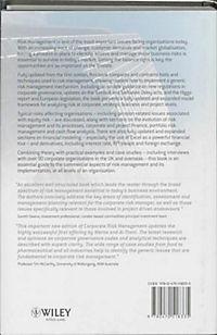 Corporate Risk Management - Produktdetailbild 1