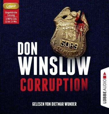 Corruption, 3 MP3-CD, Don Winslow