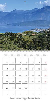 Corsica rough beauty (Wall Calendar 2019 300 × 300 mm Square) - Produktdetailbild 1