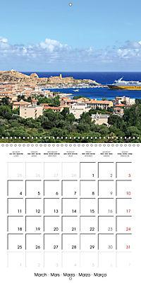 Corsica rough beauty (Wall Calendar 2019 300 × 300 mm Square) - Produktdetailbild 3