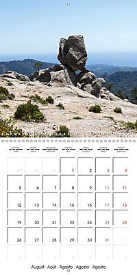 Corsica rough beauty (Wall Calendar 2019 300 × 300 mm Square) - Produktdetailbild 8