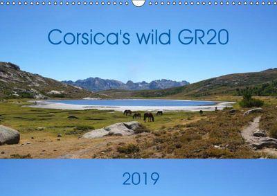Corsica's wild GR20 (Wall Calendar 2019 DIN A3 Landscape), Nathalie Braun