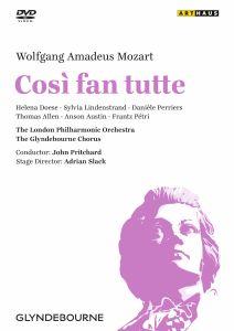 Cosi Fan Tutte, Wolfgang Amadeus Mozart