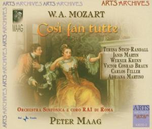 Cosi Fan Tutte, RAI Di Roma So, Peter Maag