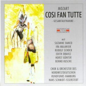 Cosi Fan Tutte (Ga), Chor & Orch.Des Nordwestdeutschen Rundfunk Hamburg