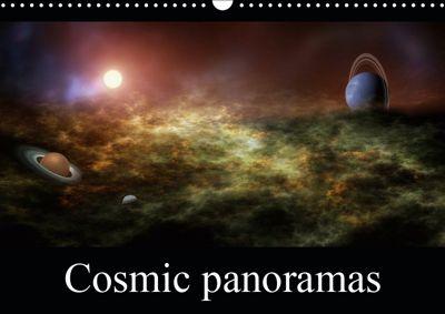 Cosmic panoramas (Wall Calendar 2019 DIN A3 Landscape), Alain Gaymard