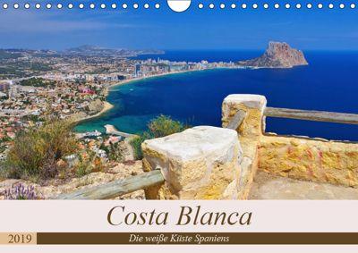 Costa Blanca - Die weisse Küste Spaniens (Wandkalender 2019 DIN A4 quer), LianeM