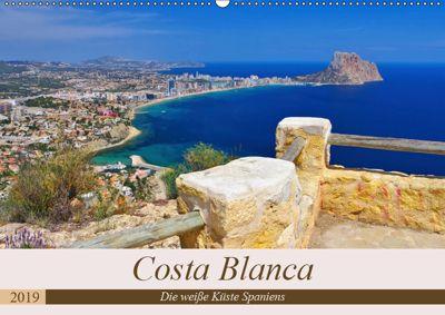 Costa Blanca - Die weisse Küste Spaniens (Wandkalender 2019 DIN A2 quer), LianeM