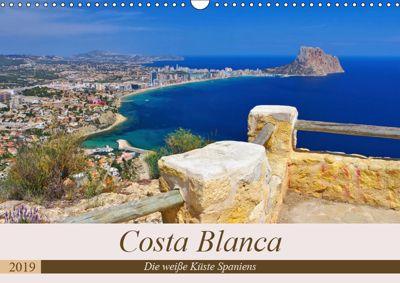 Costa Blanca - Die weiße Küste Spaniens (Wandkalender 2019 DIN A3 quer), LianeM