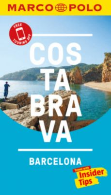 Costa Brava Marco Polo Pocket Travel Guide 2018 - with pull out map