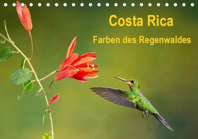 Costa Rica - Farben des Regenwaldes (Tischkalender 2019 DIN A5 quer), k.A. Akrema-Photography