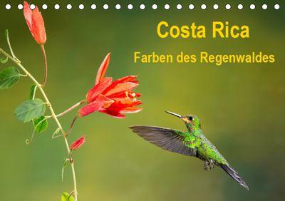 Costa Rica - Farben des Regenwaldes (Tischkalender 2019 DIN A5 quer), Akrema-Photography