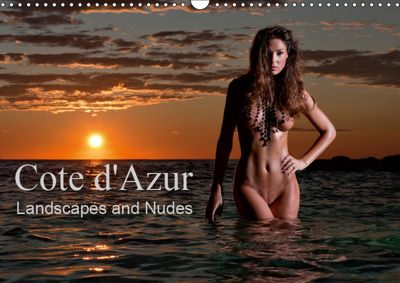 Cote d'Azur Landscapes and Nudes (Wall Calendar 2019 DIN A3 Landscape), Martin Zurmuehle