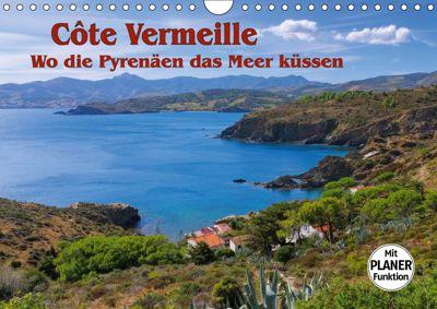 Cote Vermeille - Wo die Pyrenäen das Meer küssen (Wandkalender 2019 DIN A4 quer), LianeM