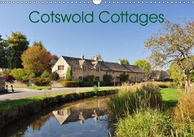 Cotswold Cottages (Wall Calendar 2019 DIN A3 Landscape), Jon Grainge