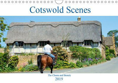 Cotswold Scenes (Wall Calendar 2019 DIN A4 Landscape), Jon Grainge