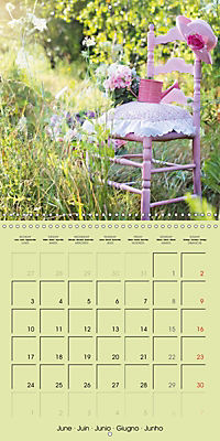 Cottage Summer. Colours of the countryside (Wall Calendar 2019 300 × 300 mm Square) - Produktdetailbild 6