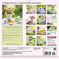 Cottage Summer. Colours of the countryside (Wall Calendar 2019 300 × 300 mm Square) - Produktdetailbild 13