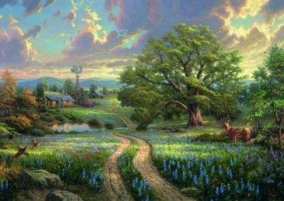 Country Living (Puzzle), Thomas Kinkade
