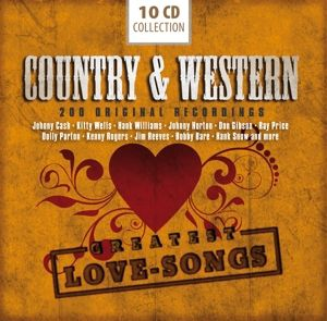 Country & Western-200 Greatest Love Songs, Various