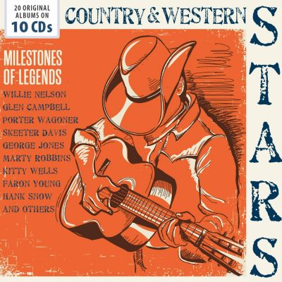 Country & Western Stars, 10 CDs, Various