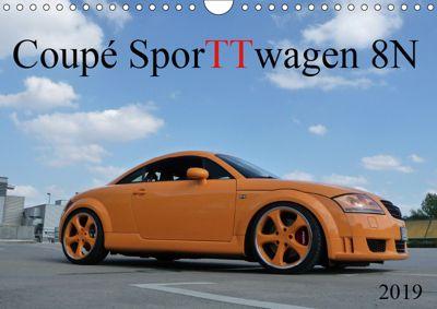 Coupé SporTTwagen 8N (Wandkalender 2019 DIN A4 quer), SchnelleWelten