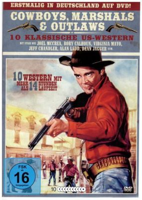 Cowboys, Marshals & Outlaws DVD-Box, Marshals & Outlaws Cowboys