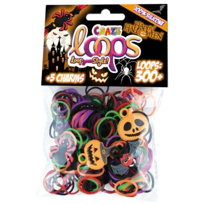 CRAZE Loops - Halloween, 300 Loops + 5 Charms