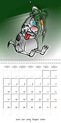 Crazy Dogs in the house (Wall Calendar 2019 300 × 300 mm Square) - Produktdetailbild 6