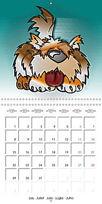 Crazy Dogs in the house (Wall Calendar 2019 300 × 300 mm Square) - Produktdetailbild 7