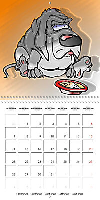 Crazy Dogs in the house (Wall Calendar 2019 300 × 300 mm Square) - Produktdetailbild 10