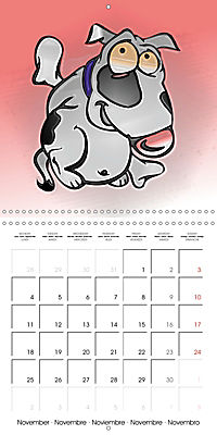 Crazy Dogs in the house (Wall Calendar 2019 300 × 300 mm Square) - Produktdetailbild 11