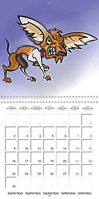 Crazy Dogs in the house (Wall Calendar 2019 300 × 300 mm Square) - Produktdetailbild 9