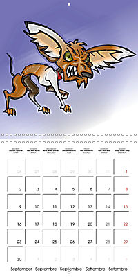Crazy Dogs in the house (Wall Calendar 2019 300 × 300 mm Square) - Produktdetailbild 9